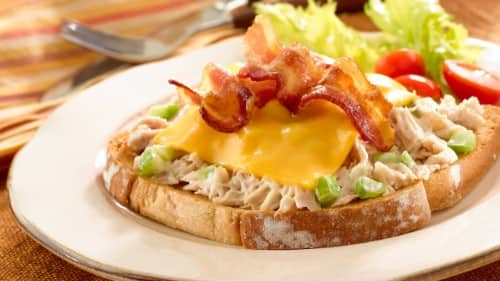 Toasted Tuna 'N Bacon Melts Recipe
