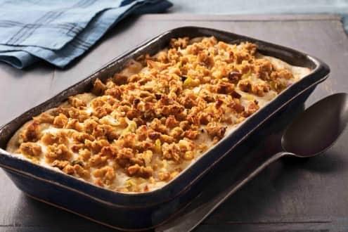 Thanksgiving Leftover Turkey Casserole Recipe