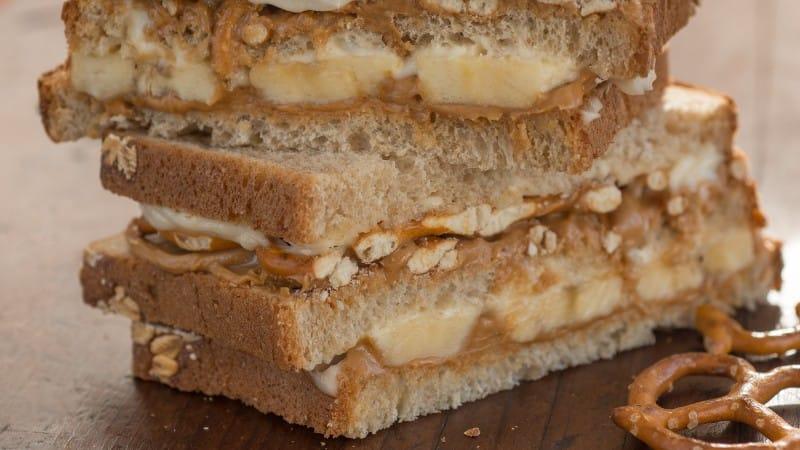Sándwich salado y dulce