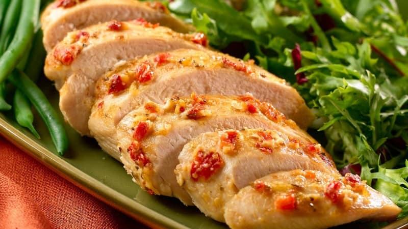Tuscan Glazed Chicken