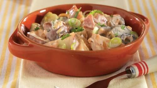 Creamy Salsa Potato Salad