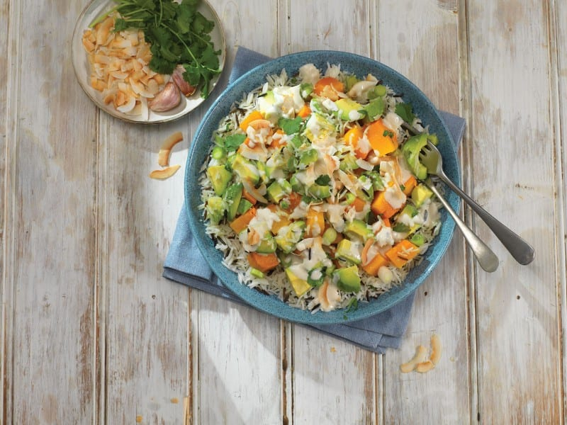 Sweet Potato and Avocado Salad