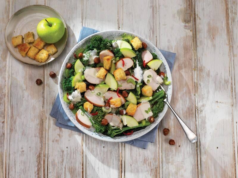 Smokey Chicken and Kale Salad