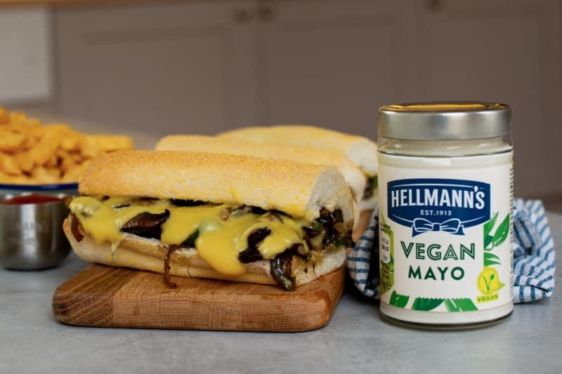 Vegan Philly Cheese 'Steak'