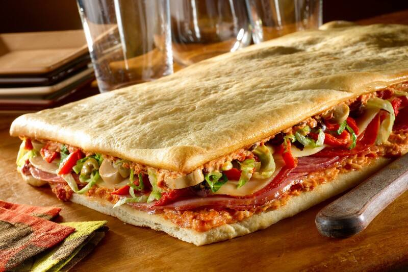 Hellmann's - Chaussons apéritifs façon pizza