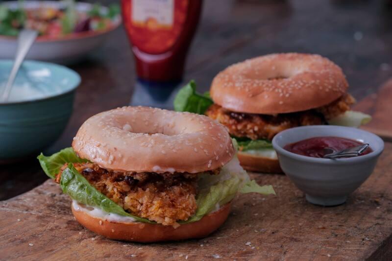 Hellmann's - Hamburger au poulet