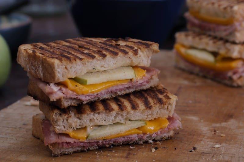 Hellmann's - Sandwich jambon grillé-fromage