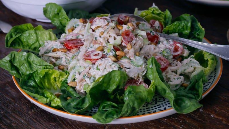 Hellmann's - Salade de poulet