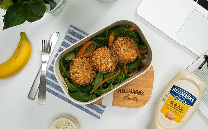 Hellmann's Leftover Potato Fishcakes