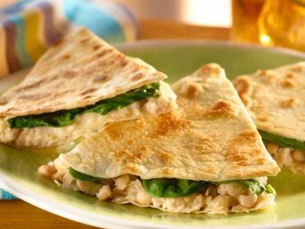 Quesadillas med vita bönor & tonfisk