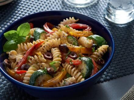 Ensalada de Pasta con Verduras