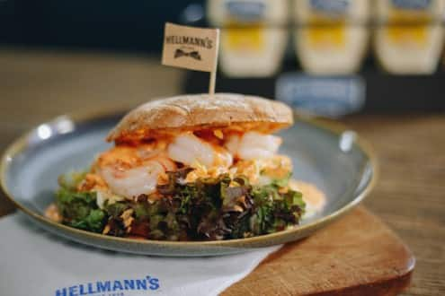 Hellmann's - Alaska Shrimpsburger