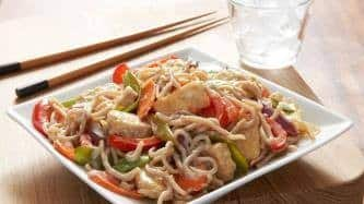 Tempeh and Soba Noodle Stir-Fry