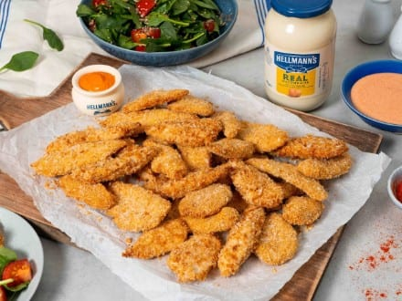 Spicy Mayo Chicken Dippers