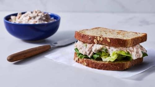 Classic Tuna Salad Sandwich Recipe