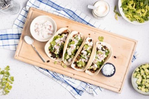 Hellmann's - Gefüllte Tacos mit Mayo-Salsa