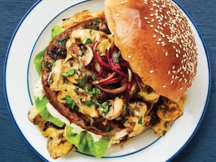 Super Burger con Verduras