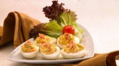 Delicias con huevo