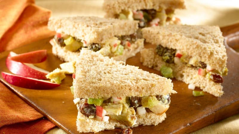 Curried Chicken Sandwiches