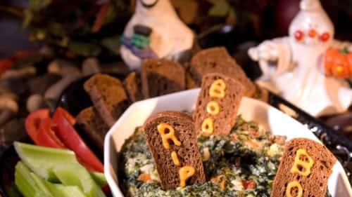Graveyard Spinach Dip Recipe