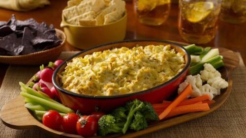Start Your Appetite Artichoke Dip