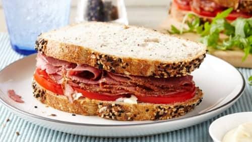 Pastrami Sandwiches