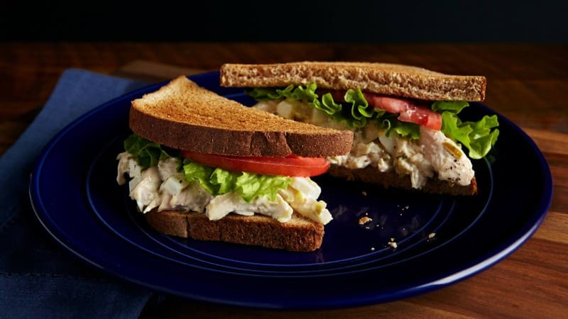 Homemade Chicken Salad Sandwich Recipe