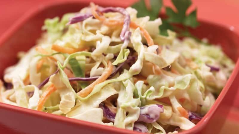 Ensalada de col en 5 minutos