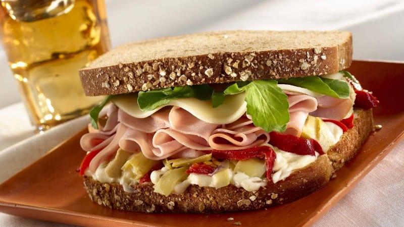Sándwich combo italiano