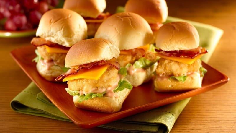 Bocaditos de nuggets de pollo