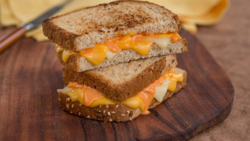 Turnt Up Grilled Cheese Strangewich