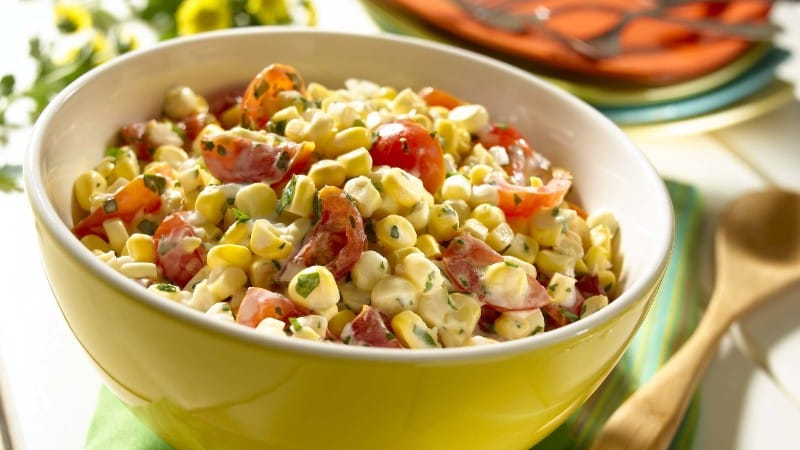 Fresh Fiesta Corn Salad