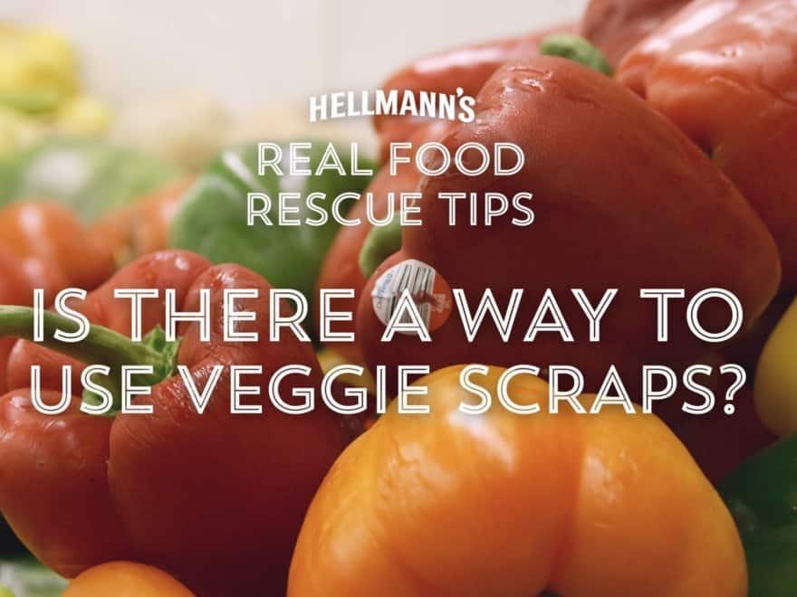 Real Food Rescue Tips Video 1 - Veggie scraps