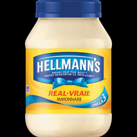 Mayonnaise vraie hellmann s - Mayonnaise sans vinaigre ...