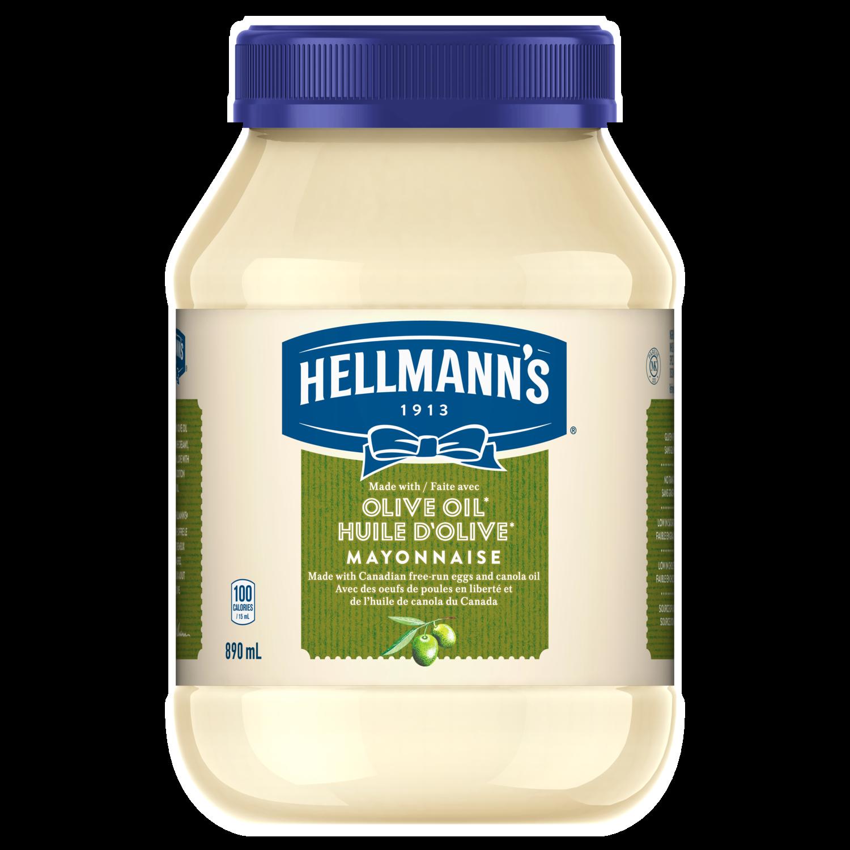 olive oil mayonnaise (890ml) | hellmann's® canada