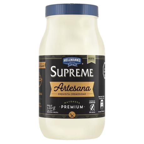 Mayonesa Hellmann's Supreme Artesana Frasco