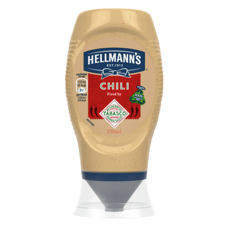 Hellmann's Chili Fired by Tabasco®