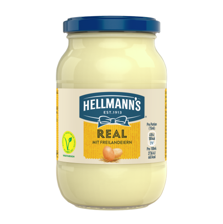 Hellmann's REAL im Glas