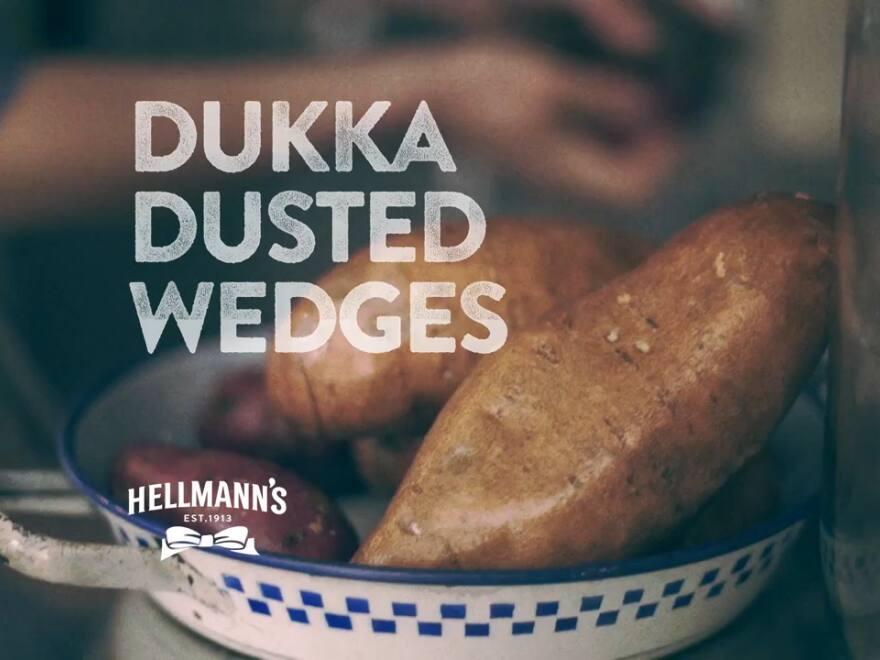 Dukkah-Dusted Wedges