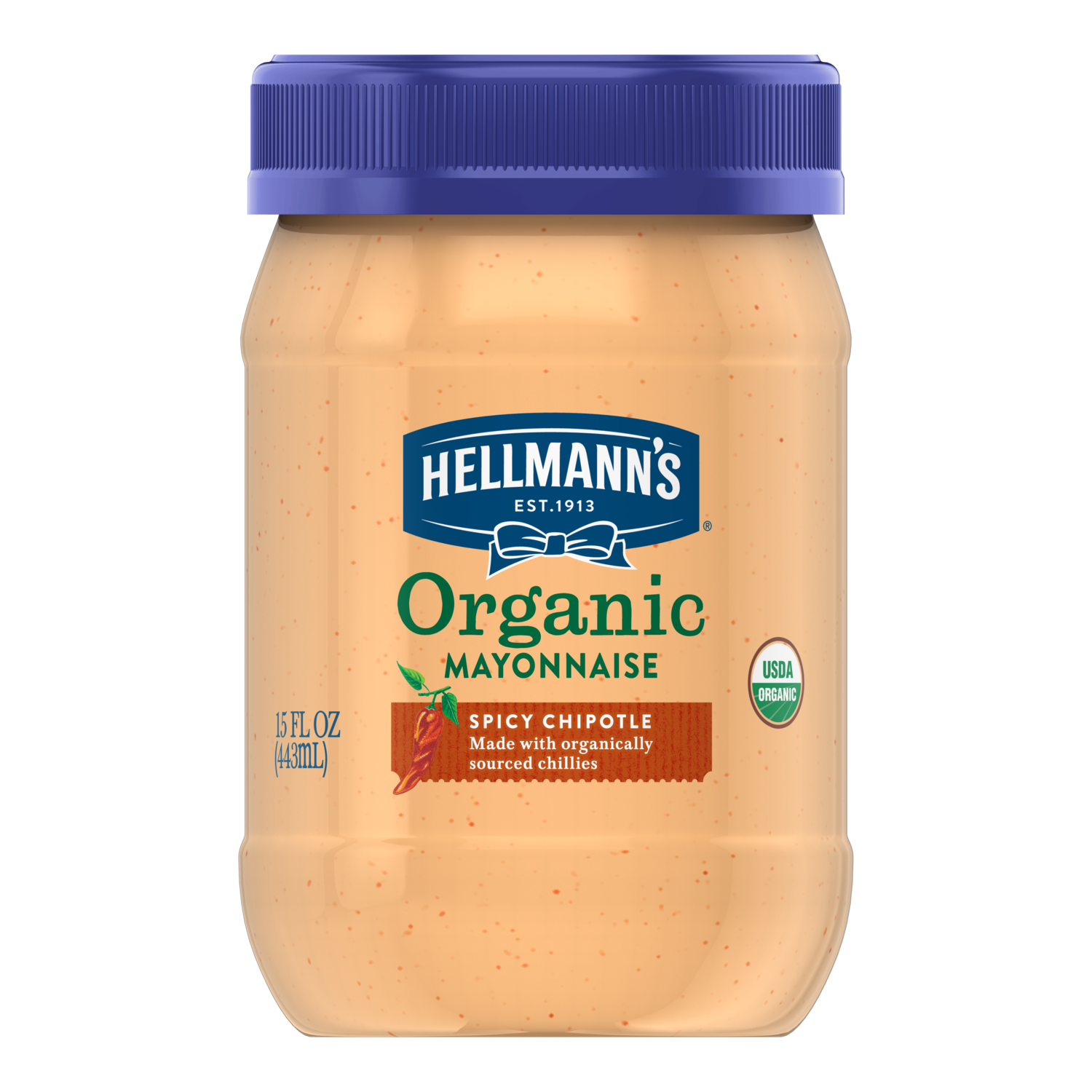 Organic Spicy Chipotle Mayonnaise Hellmann S