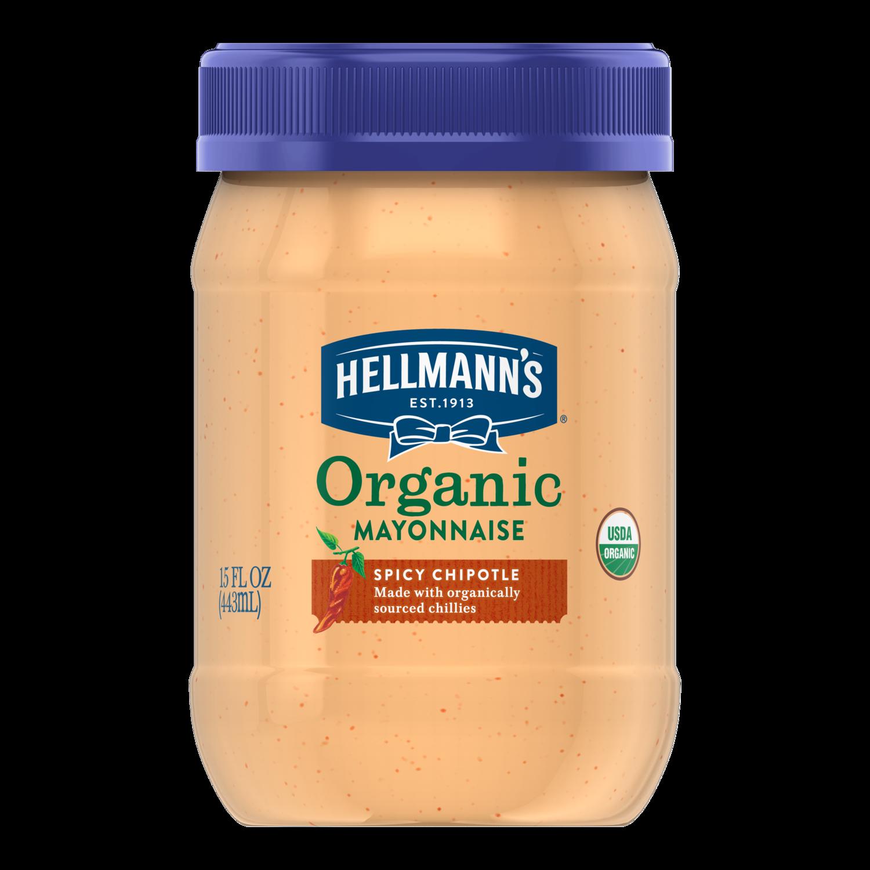 Organic Spicy Chipotle Mayonnaise Hellmann S